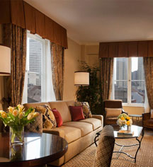 Accommodations:      Omni Royal Orleans, New Orleans  in New Orleans