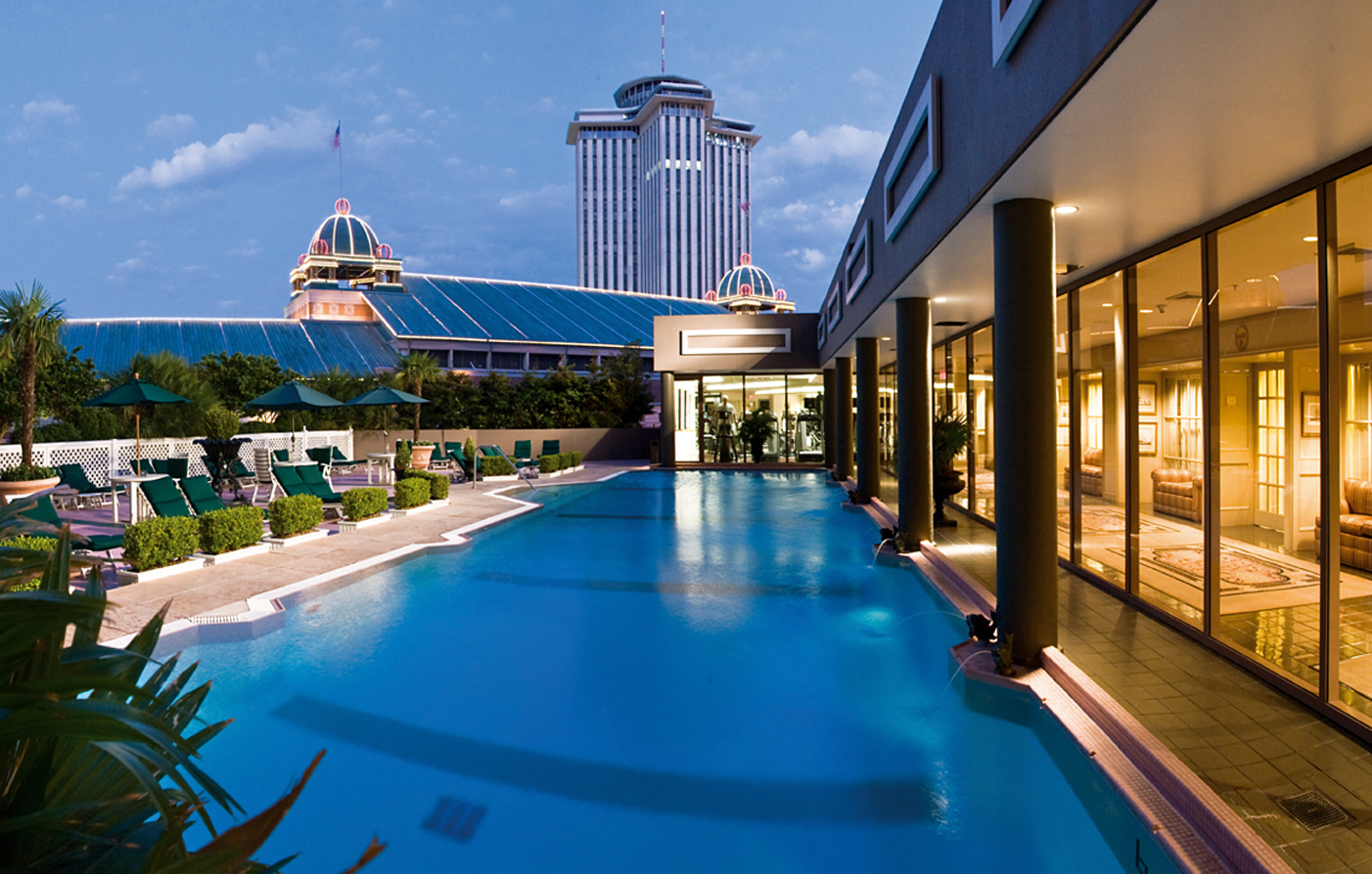Activities:      Windsor Court Hotel  in New Orleans