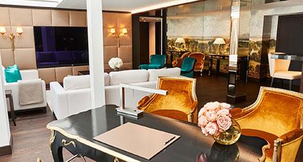 Accommodations:      Hotel Vier Jahreszeiten Kempinski Munich  in Munich