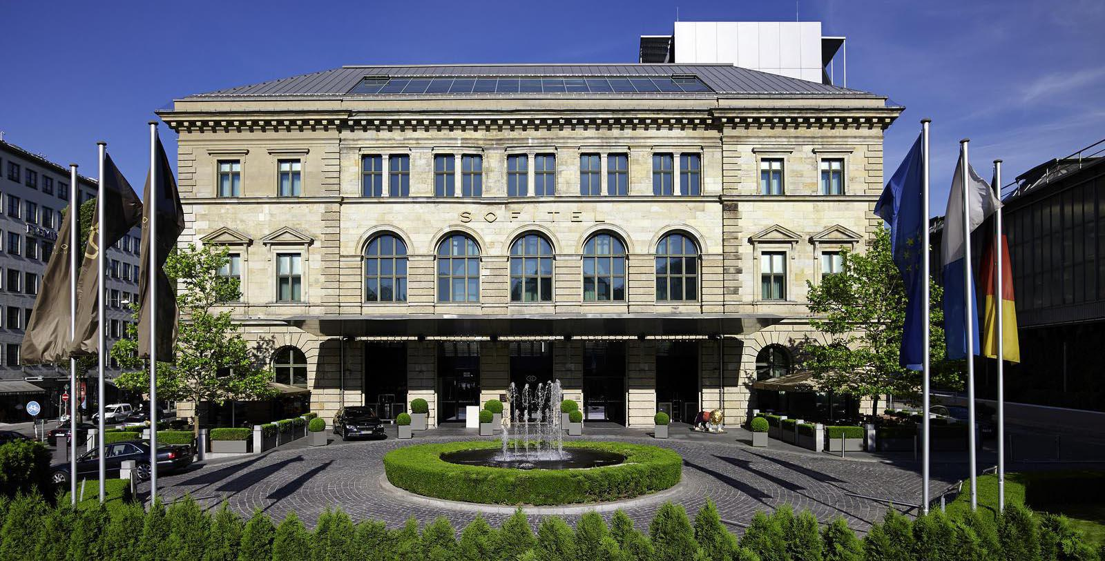 Image of Hotel Exterior Sofitel Munich Bayerpost, 1896, Member of Historic Hotels Worldwide, in Munich, Germany, Special Offers, Discounted Rates, Families, Romantic Escape, Honeymoons, Anniversaries, Reunions