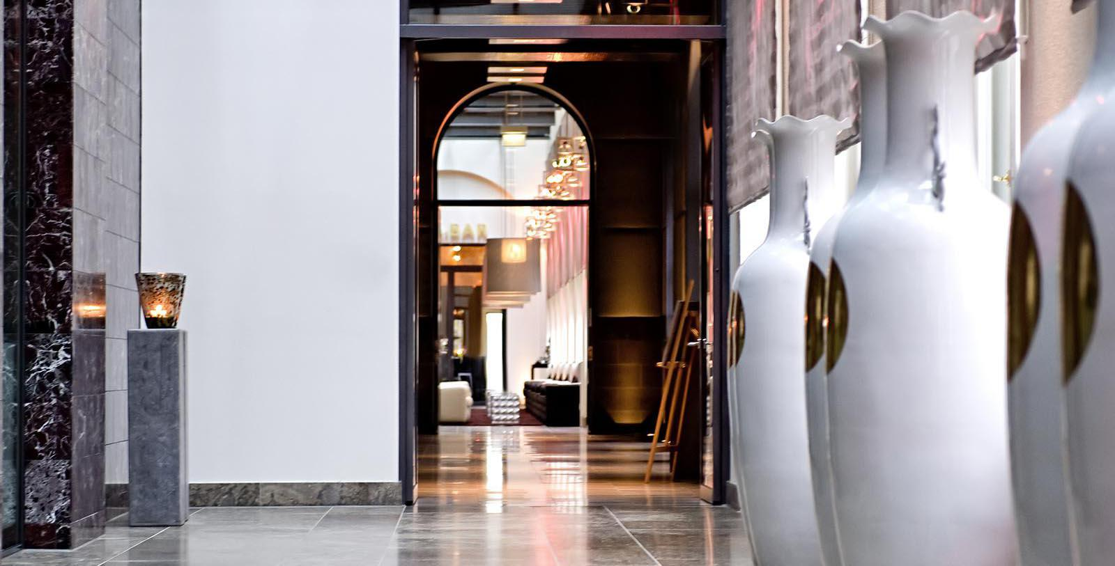 Image of Hallway at Sofitel Munich Bayerpost, 1896, Member of Historic Hotels Worldwide, in Munich, Germany, Discover