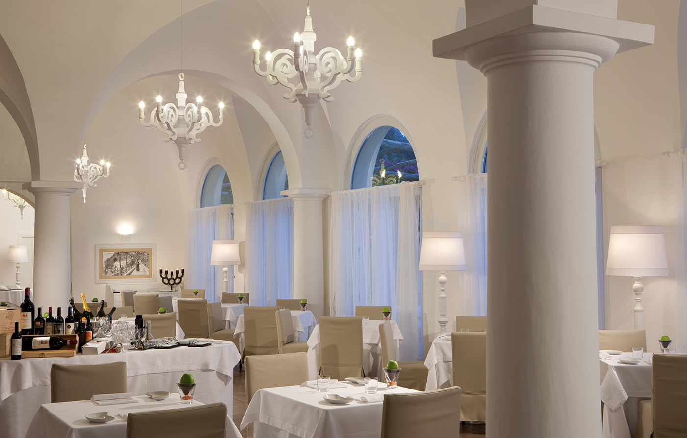 Dining:      NH Collection Grand Hotel Convento di Amalfi  in Amalfi