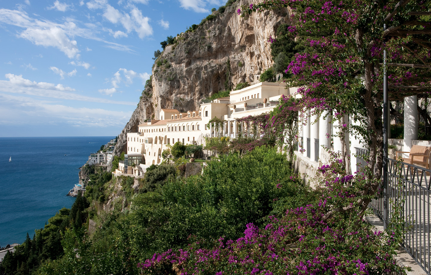 Nh collection grand hotel convento di amalfi luxury for Convento di amalfi
