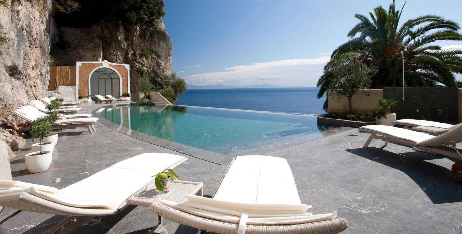 Image of Pool NH Collection Grand Hotel Convento di Amalfi, 1212 Member of Historic Hotels Worldwide, in Amalfi, Italy, Explore