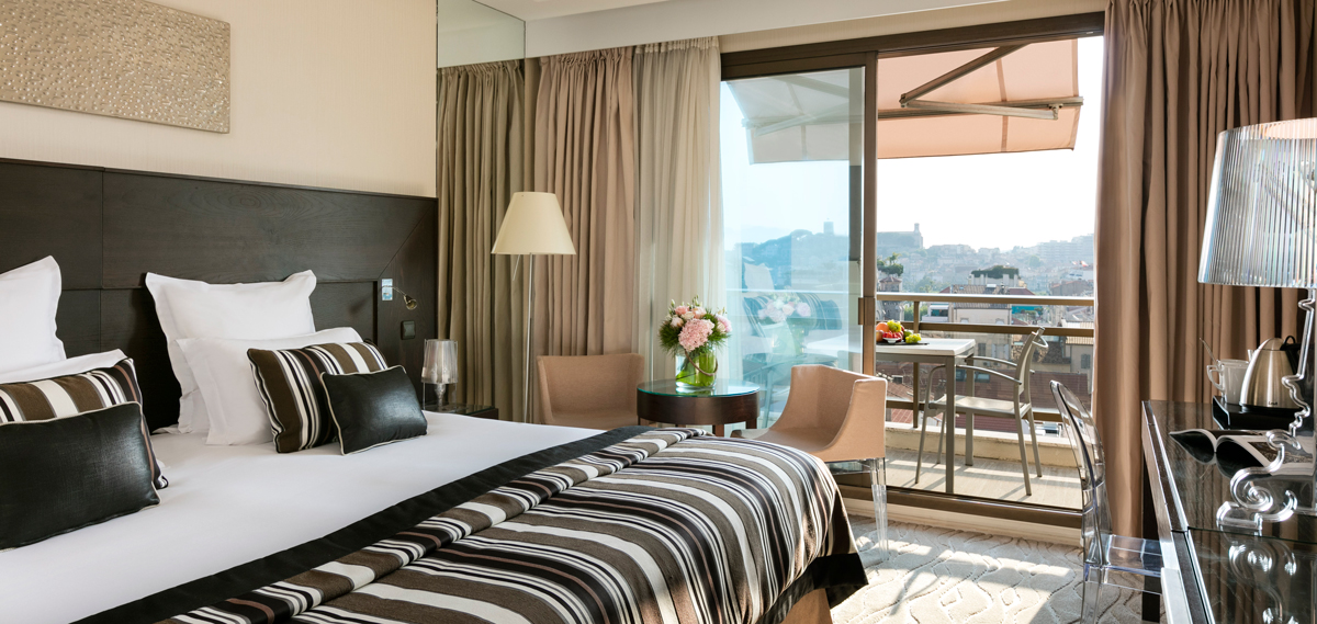 Accommodations:      Hotel Barriere Le Gray D'Albion Cannes  in Cannes