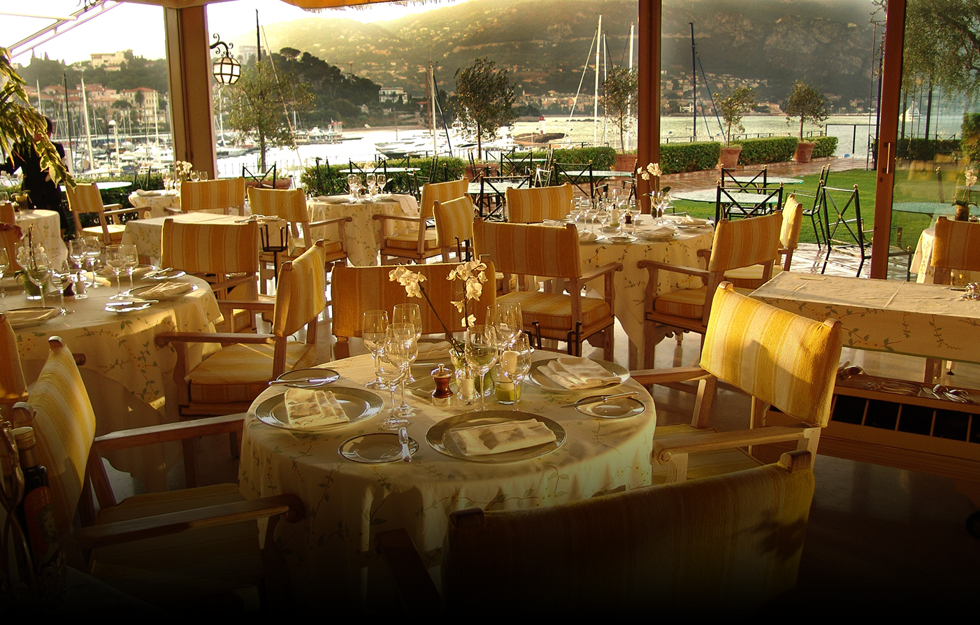 Dining:      La Voile d'Or  in Saint Jean Cap Ferrat