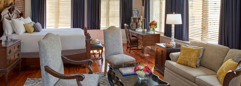 Image of Guestroom Interior The Hotel Viking, 1926, Member of Historic Hotels of America, in Newport, Rhode Island, Explore