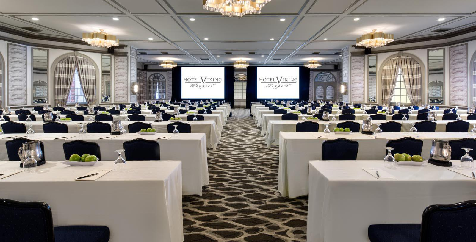 Image of Meeting Space The Hotel Viking, 1926, Member of Historic Hotels of America, in Newport, Rhode Island, Experience