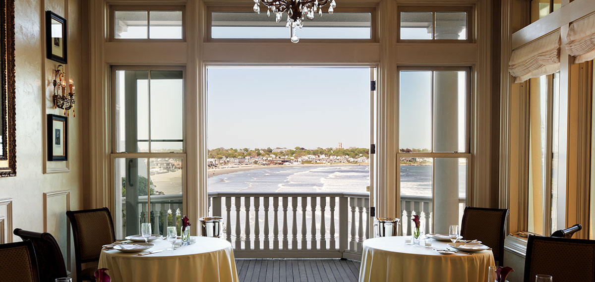 Dining:      The Chanler at Cliff Walk  in Newport