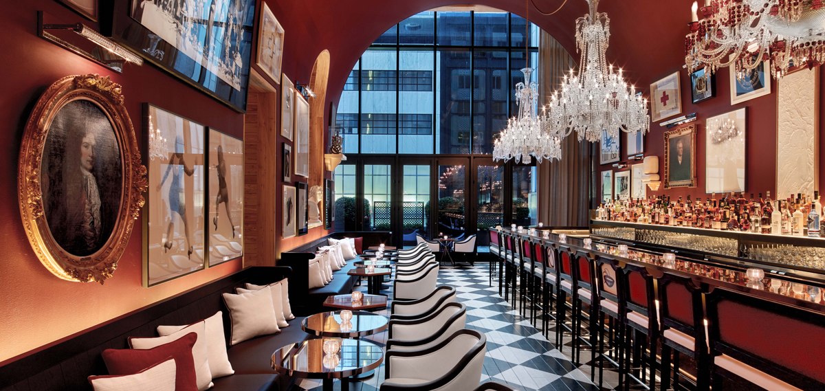 Image result for the bar at the baccarat hotel and residences new york