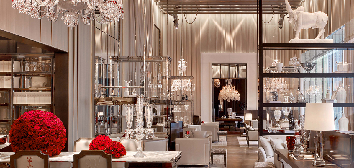 Dining:      Baccarat Hotel New York  in New York