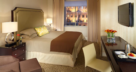 Accommodations:      Omni Berkshire Place, New York City  in New York