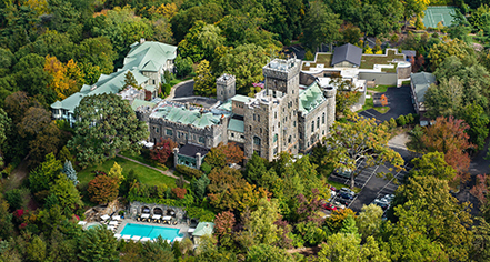 Spa:      Castle Hotel & Spa  in Tarrytown