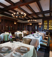 Dining at      Castle Hotel & Spa  in Tarrytown
