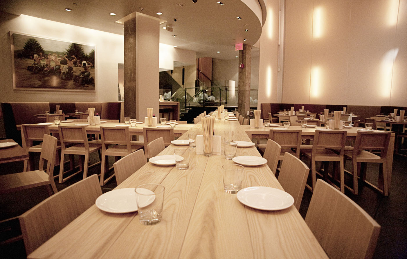Dining:      Chambers Hotel  in New York