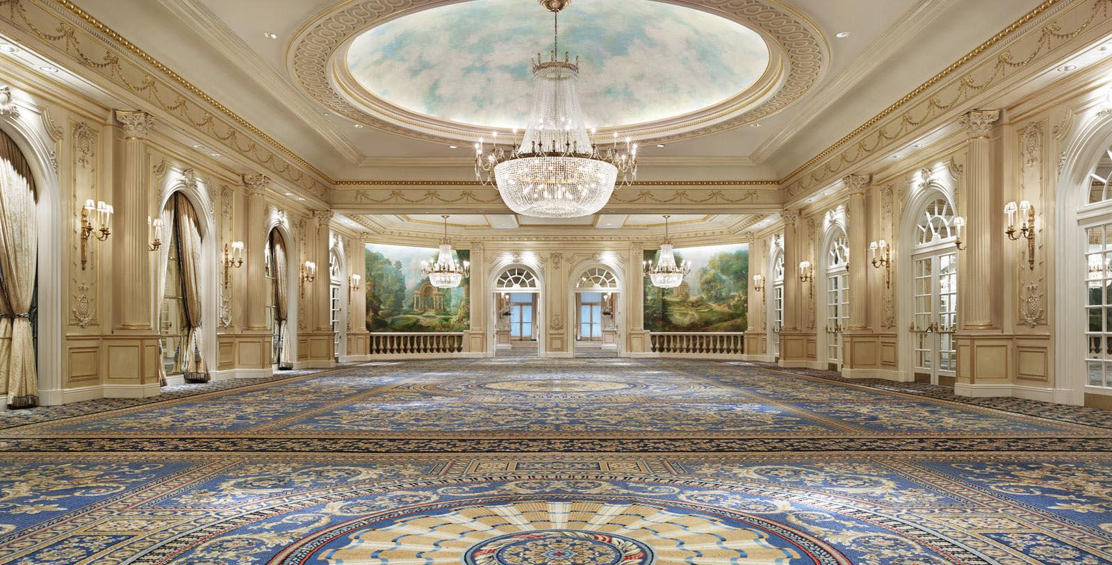Image of Ballroom, JW Marriott Essex House New York, New York, 1931, Member of Historic Hotels of America, Discover
