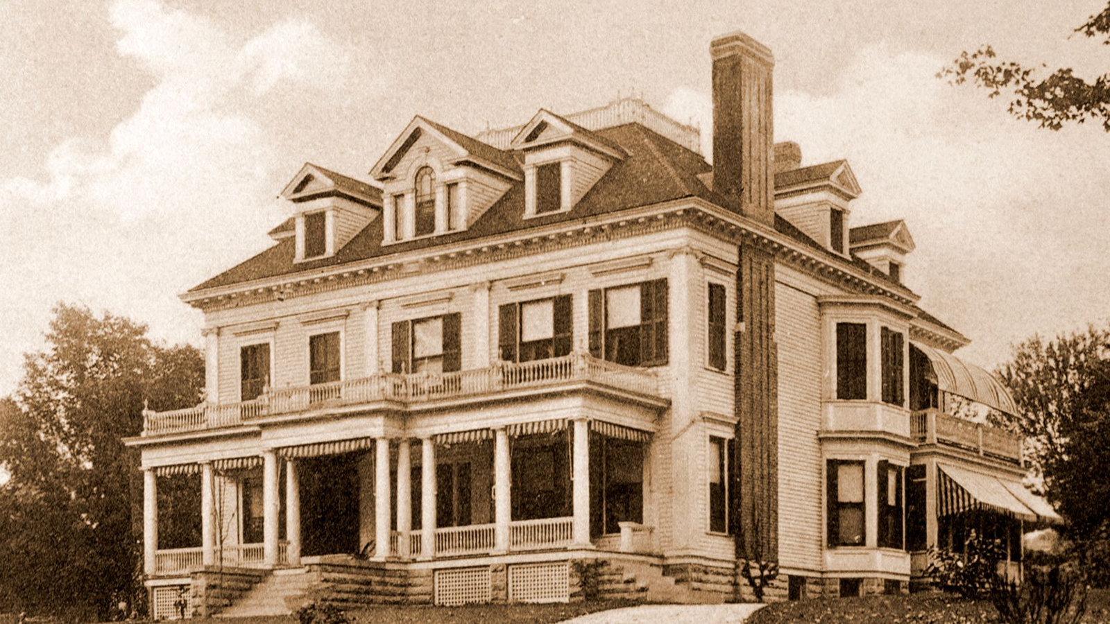 Historic image of Zabriskie House at the Inns of Aurora in Aurora, New York