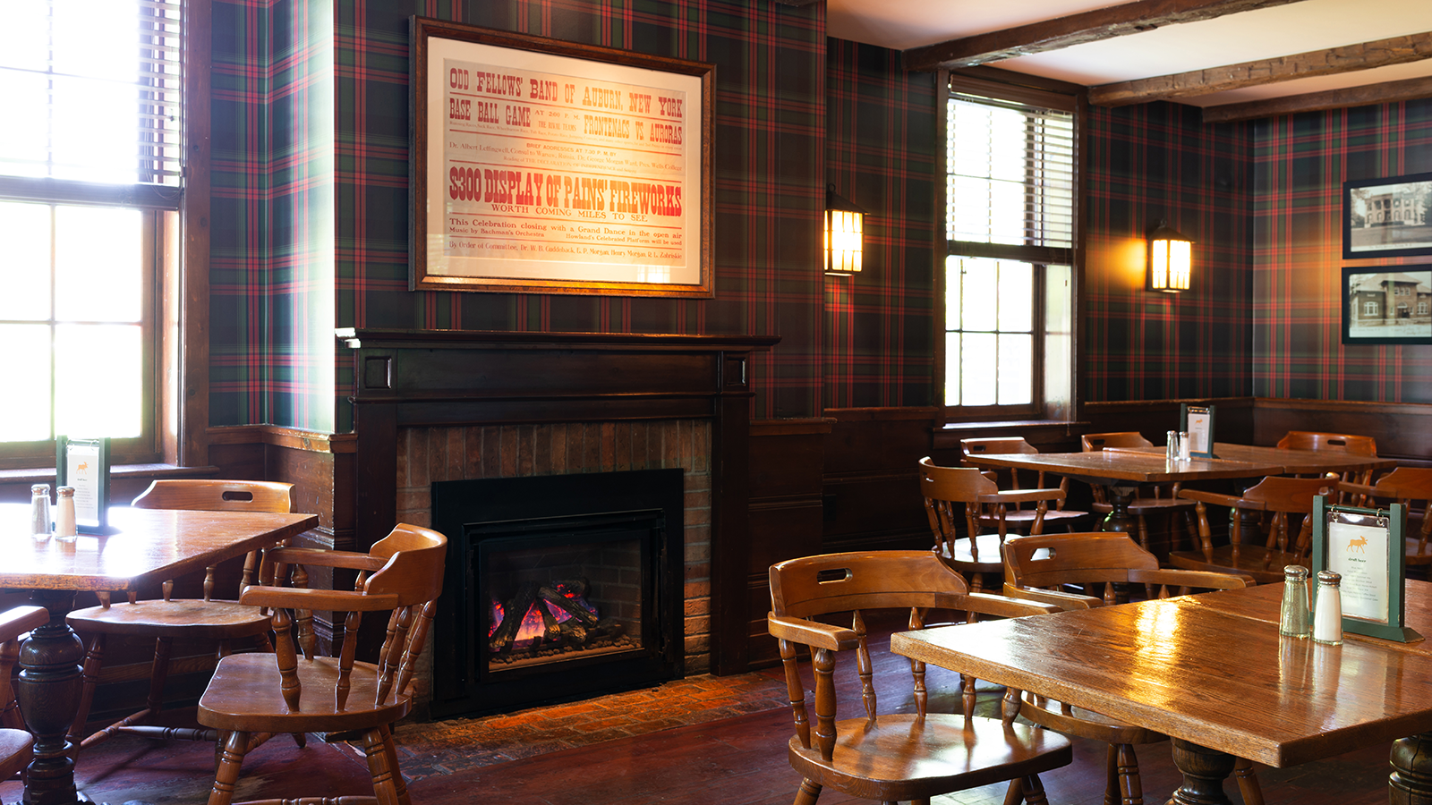 Image of Fargo Bar & Grill Dining Room at the Inns of Aurora in Aurora, New York