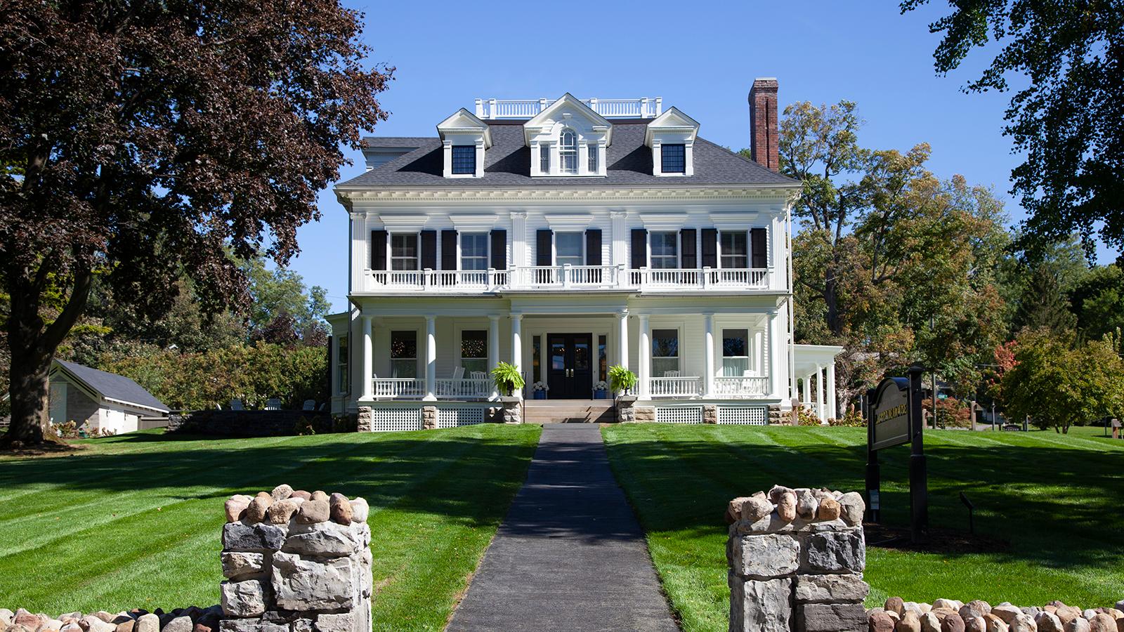 Image of Exterior of Zabriske House, the Inns of Aurora, Aurora, New York, Overview