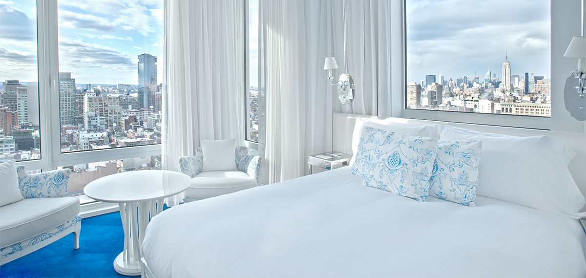 Accommodations:      NOMO SOHO  in New York