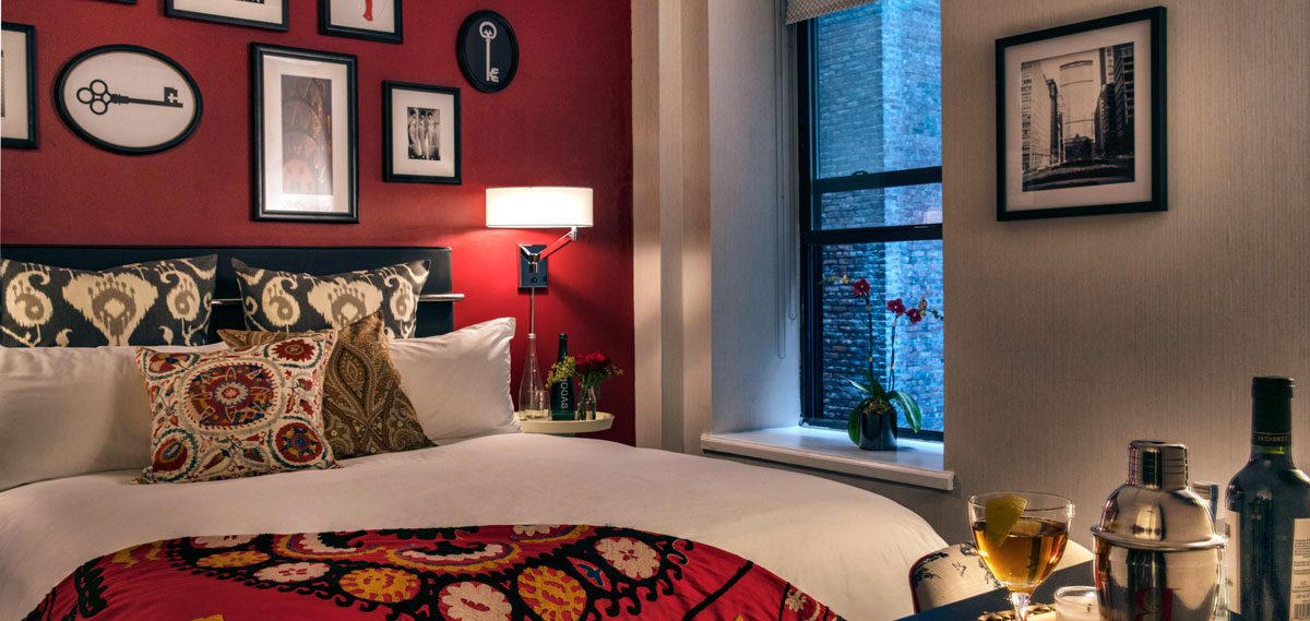 Accommodations:      The Redbury New York  in New York