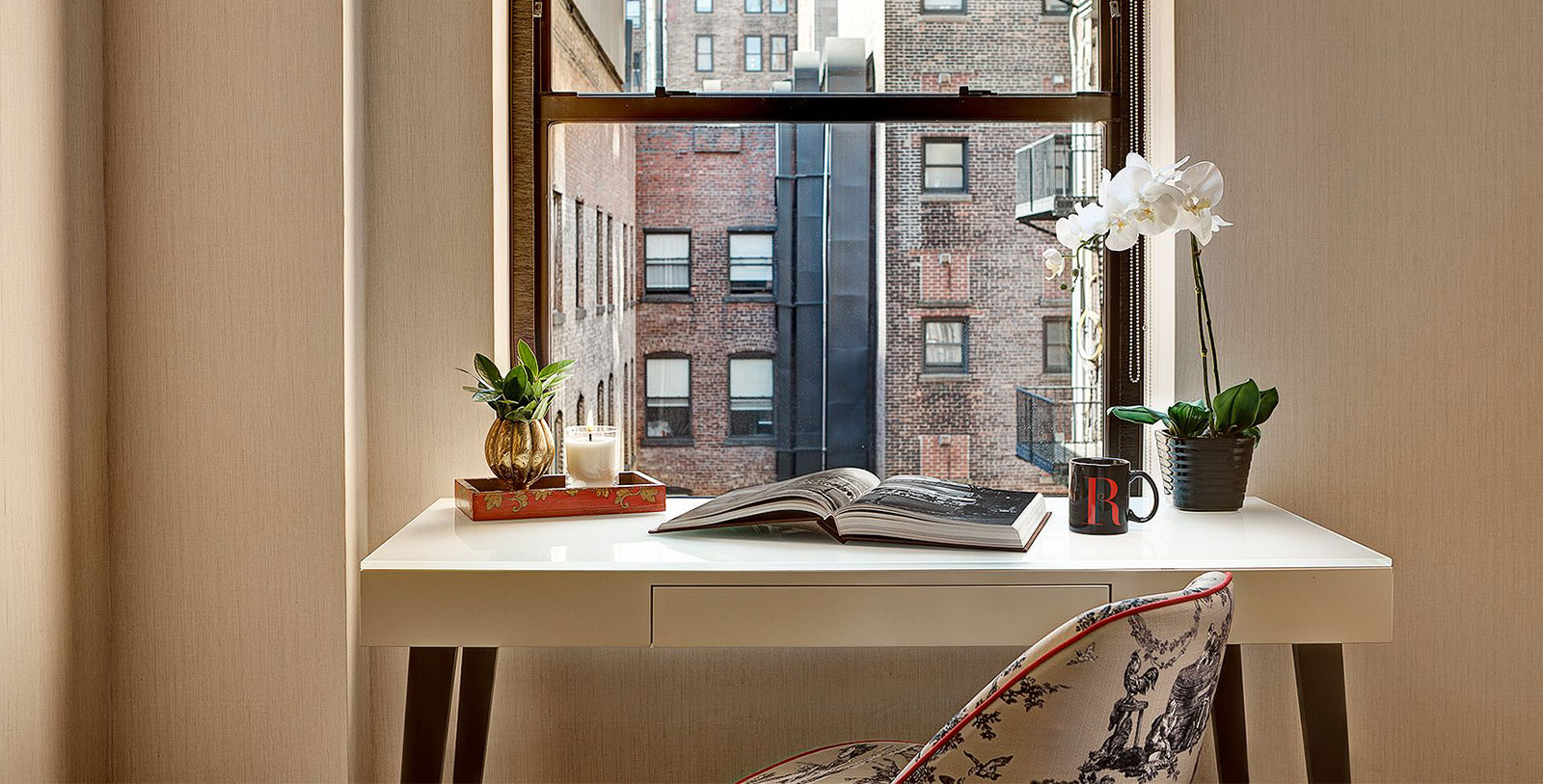 Image of Guestroom Window at The Redbury New York, 1903, Member of Historic Hotels of America, in New York, New York, Explore