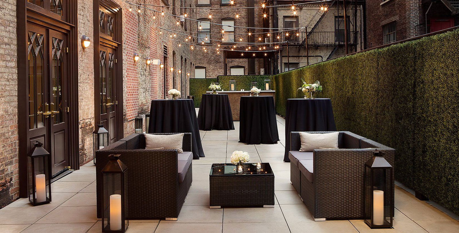 Image of Terrace Event Space at The Redbury New York, 1903, Member of Historic Hotels of America, in New York, New York, Weddings