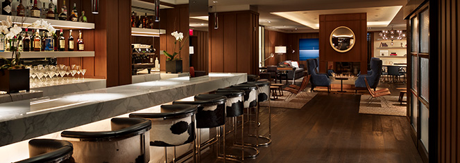 Dining at      AKA Sutton Place  in New York