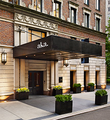 History:      AKA Sutton Place  in New York