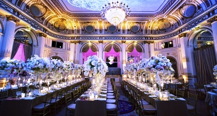 Weddings:      The Plaza  in New York