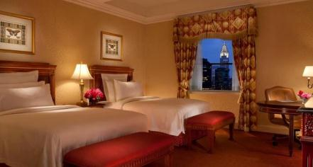 Accommodations:      The Waldorf - Astoria Hotel  in New York