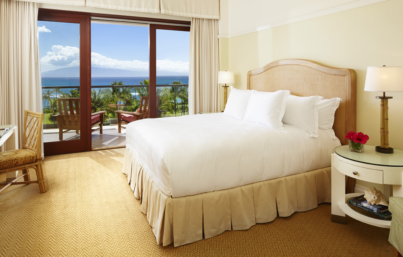 Accommodations:      Montage Kapalua Bay  in Maui/Lahaina