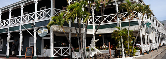 Event Calendar:      Pioneer Inn  in Maui/Lahaina