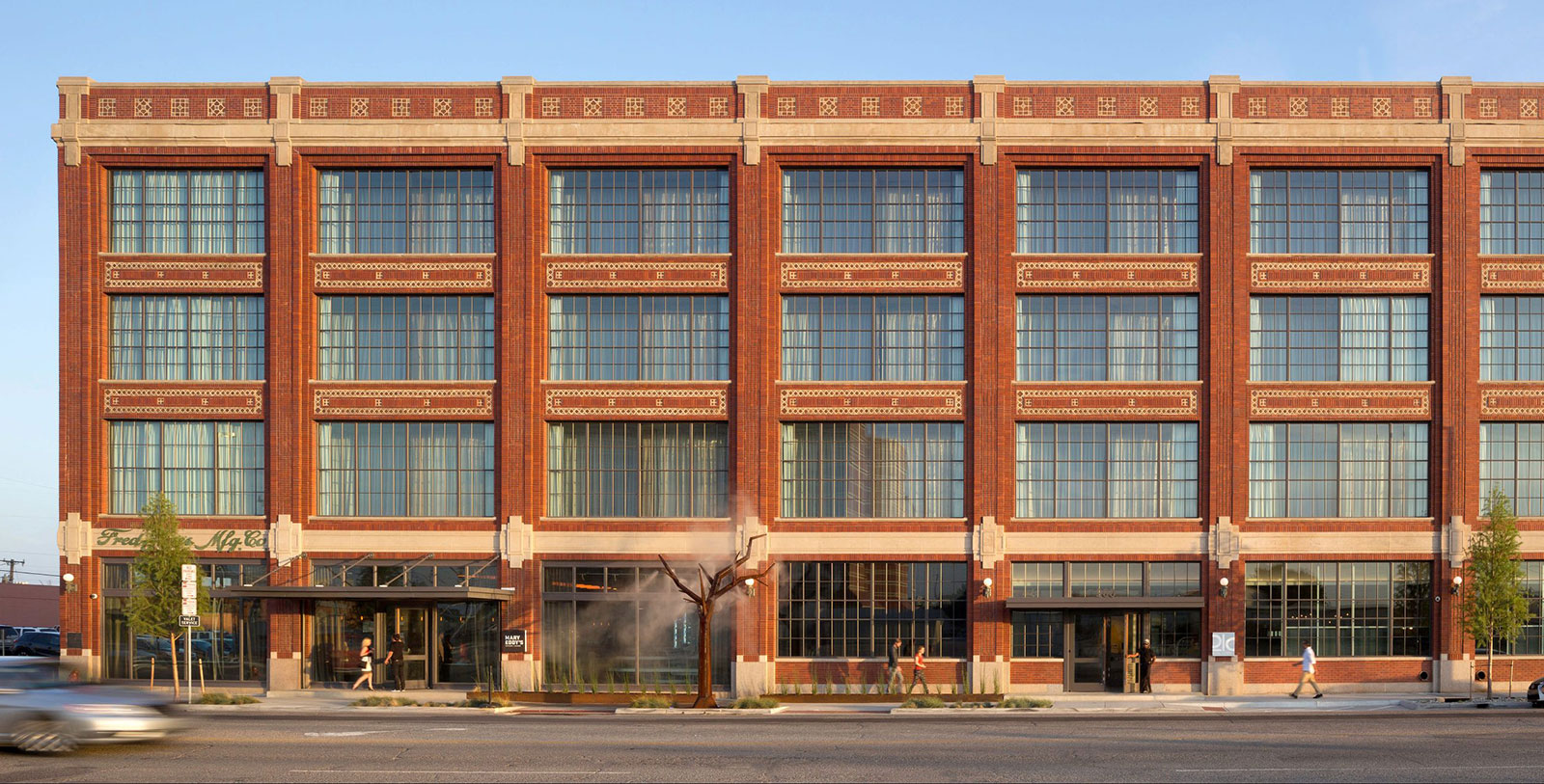 Image of exterior, 21c Museum Hotel Oklahoma City by MGallery, 1916, Member of Historic Hotels of America, in Oklahoma City, Oklahoma, Overview