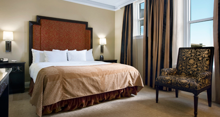 Accommodations:      The Skirvin Hilton Oklahoma City  in Oklahoma City
