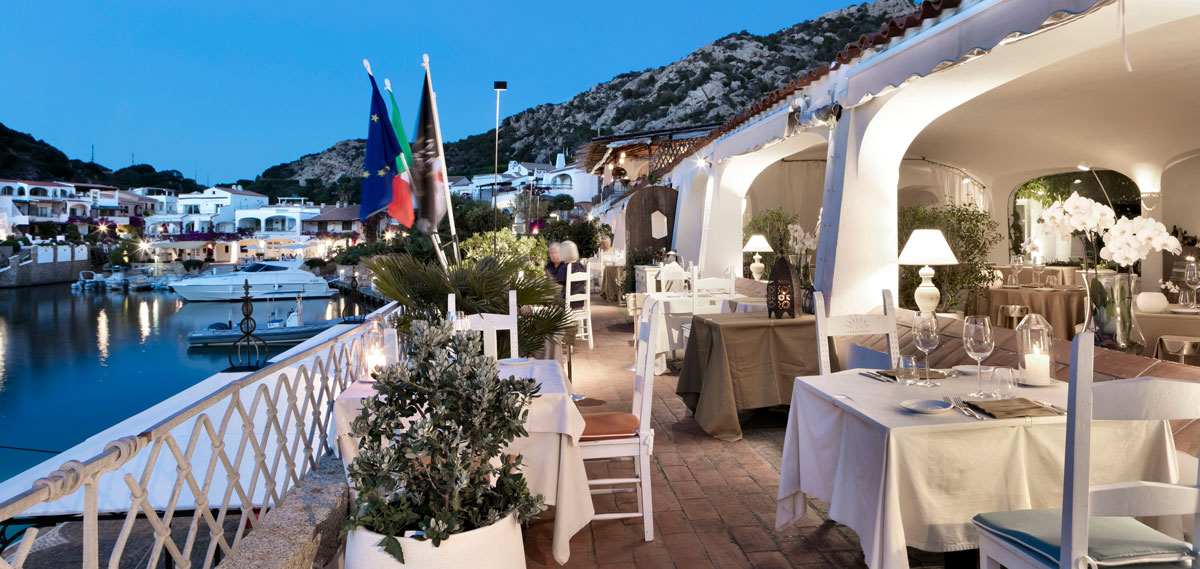 Dining:      Grand Hotel Poltu Quatu     in Arzachena