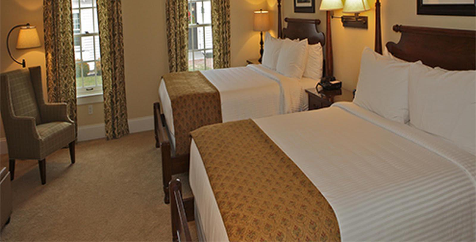 Image of Guestroom Publick House Historic Inn, 1771, Member of Historic Hotels of America, in Sturbridge, Massachusetts, Location