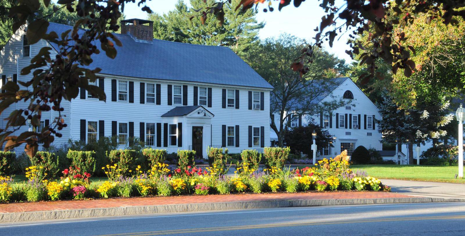 Image of Exterior of Publick House Historic Inn, 1771, Member of Historic Hotels of America, in Sturbridge, Massachusetts, Special Offers, Discounted Rates, Families, Romantic Escape, Honeymoons, Anniversaries, Reunions