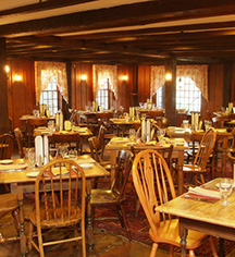 Dining at      Publick House Historic Inn  in Sturbridge