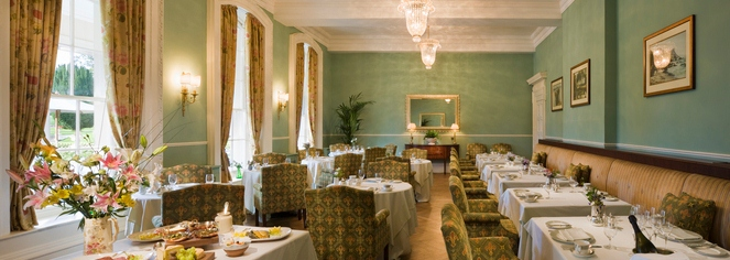 Dining at Castlemartyr Resort in Castlemartyr
