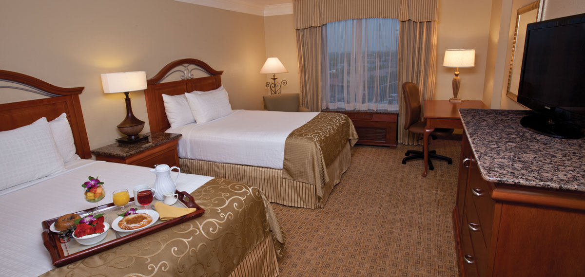Accommodations:      Rosen Centre Hotel  in Orlando