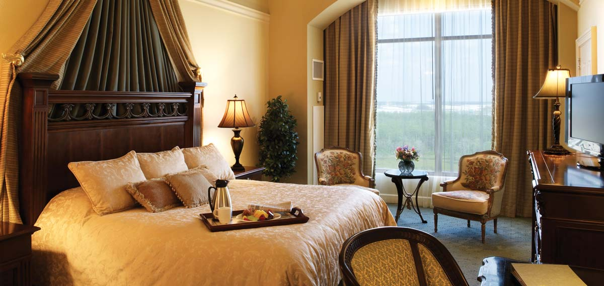 Accommodations:      Rosen Shingle Creek  in Orlando