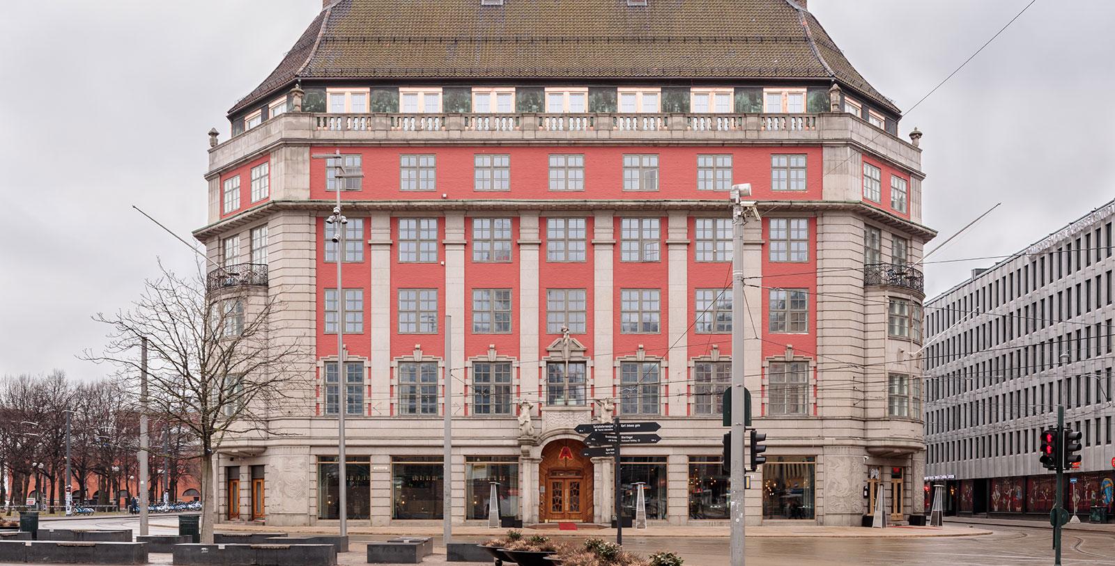 Image of hotel exterior Amerikalinjen, 1919, Member of Historic Hotels Worldwide, in Oslo, Norway, Overview