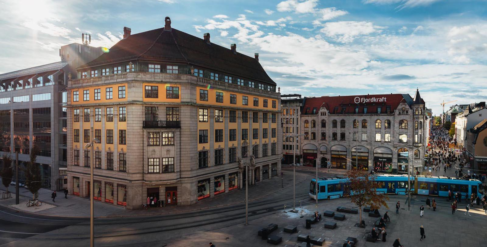 Image of hotel exterior Amerikalinjen, 1919, Member of Historic Hotels Worldwide, in Oslo, Norway, Overview