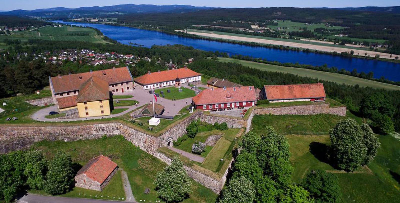 Image of Hotel Exterior Festningen Castle Hotel & Resort, 1673, Member of Historic Hotels Worldwide, in Kongsvinger, Norway, Overview