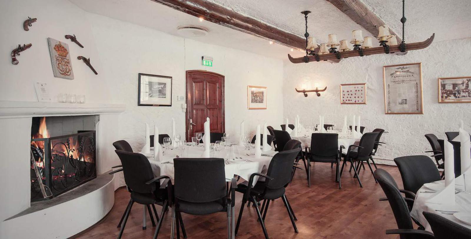 Image of Dining Room at Festningen Castle Hotel & Resort, 1673, Member of Historic Hotels Worldwide, in Kongsvinger, Norway, Hot Deals