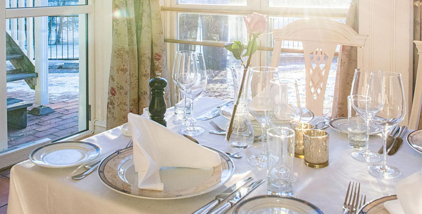 Image of Place Setting Losby Gods, 1744, Member of Historic Hotels Worldwide, in Finstadjordet, Norway, Hot Deals