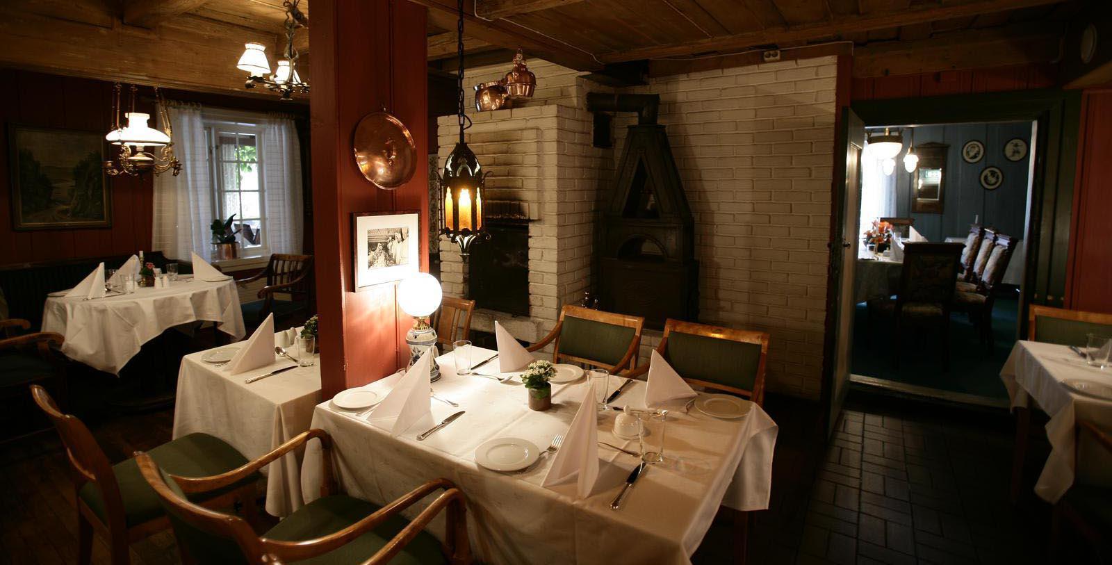 Image of Dining Room at Sundvolden Hotel, 1648, Member of Historic Hotels Worldwide, in Krokkleiva, Norway, Taste