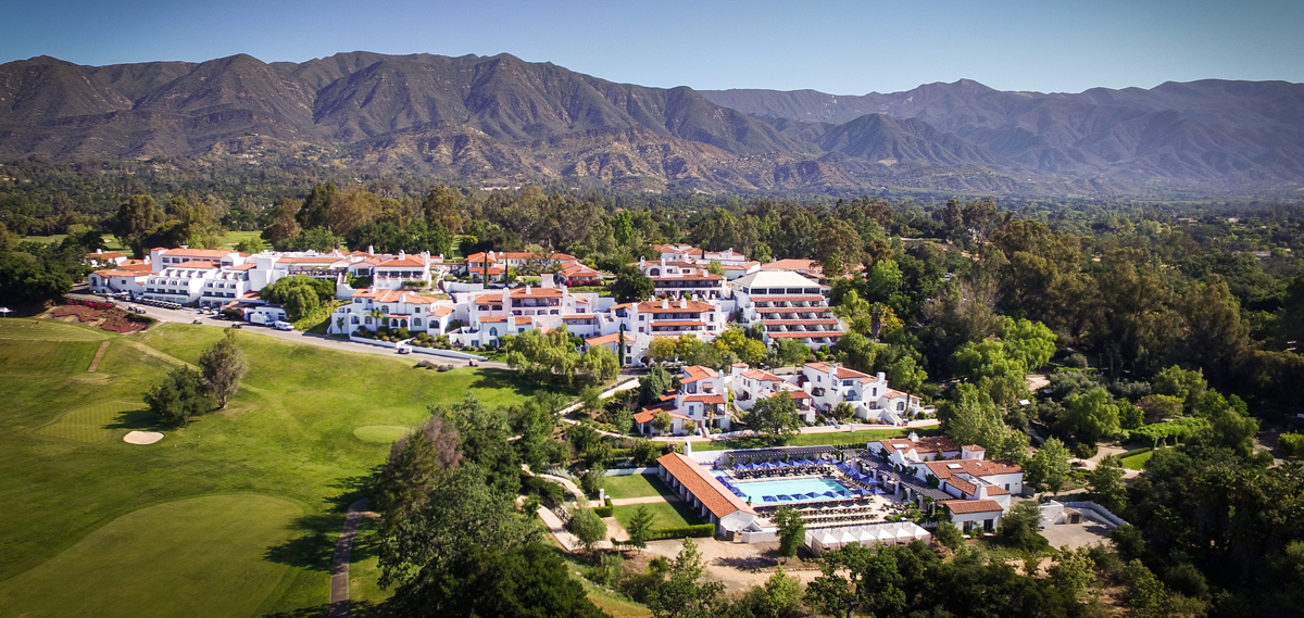 Ojai Valley Inn and Spa Exterior Overhead View