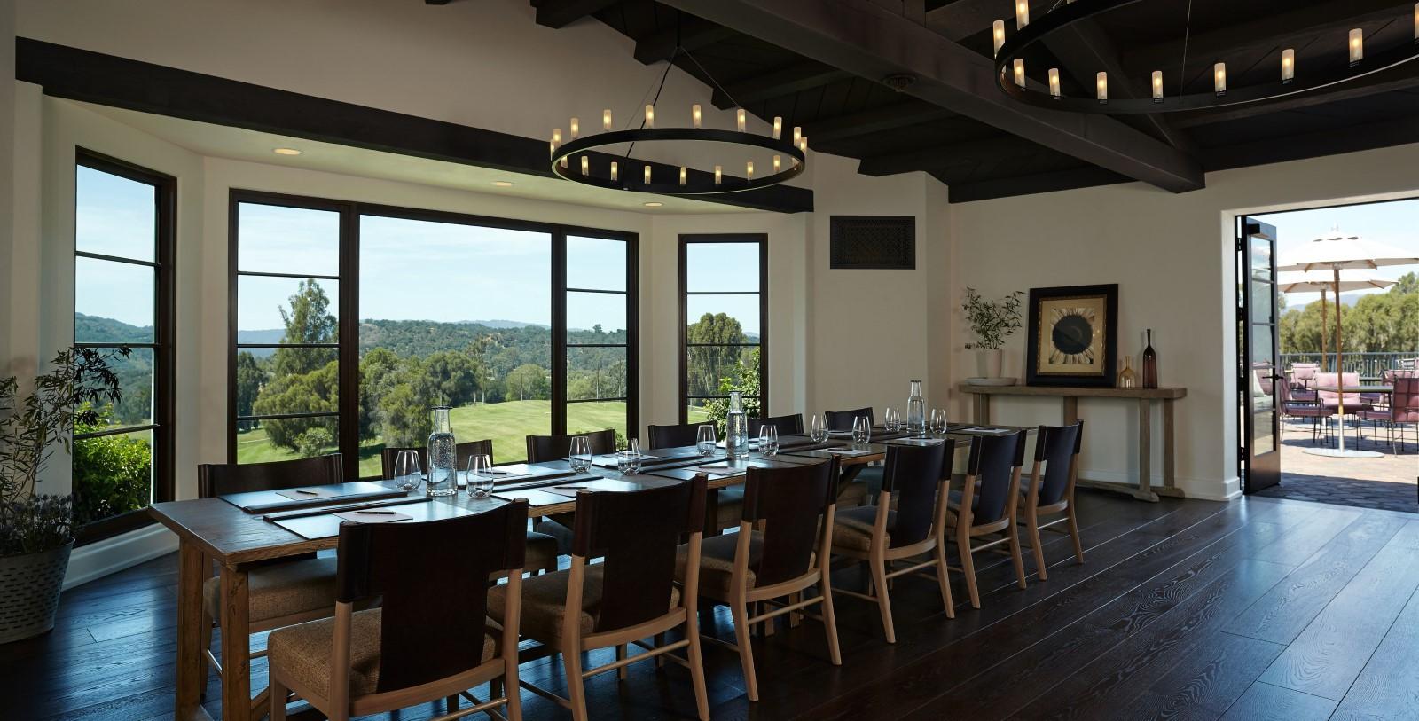 Image of Olivella Dining Area, Ojai Valley Inn, Ojai, California, 1923, Member of Historic Hotels of America, RFP